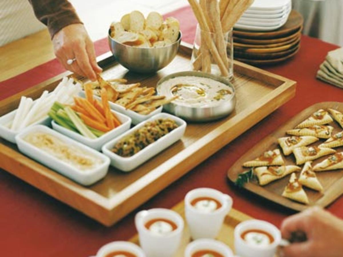 White Bean Dip with Rosemary Olive Oil