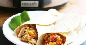 Slow Cooker Chicken Fajitas – Slender Kitchen