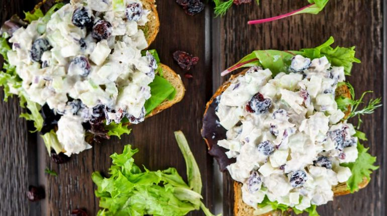 Cranberry Tuna Salad - Slender Kitchen