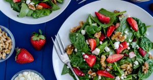 Strawberry Spinach Salad – Slender Kitchen