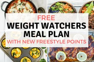 Weight Watchers Meal Plans – Slender Kitchen