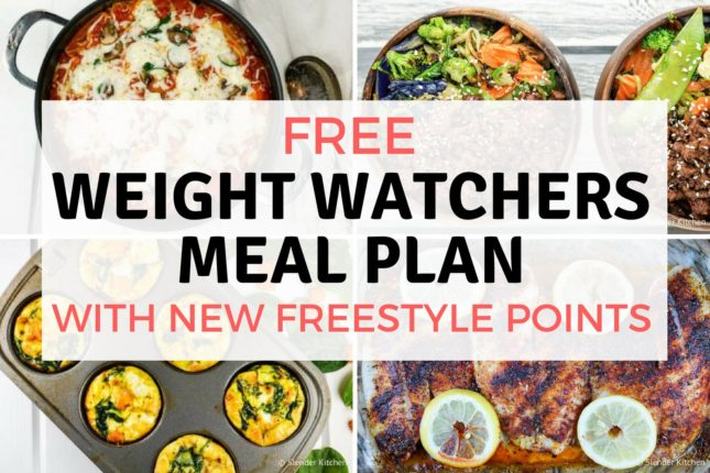 Weight Watchers Meal Plans - Slender Kitchen