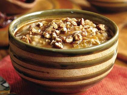 Dried Cherry-and-Pecan Oatmeal