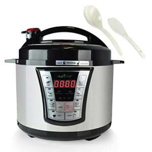 8 in 1 Electric Programmable  Pressure Cooker & St…
