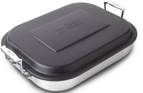 All-Clad 59946 Stainless Steel Lasagna Pan with Li...