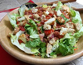 BLT Salad Recipe – RecipeTips.com