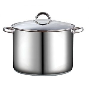 Cook N Home 16 Quart Stockpot with Lid, Stainless …