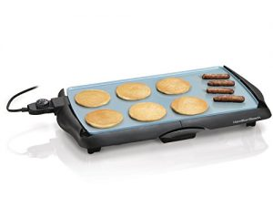 Hamilton Beach 38518 Durathon Ceramic Griddle, Bla…
