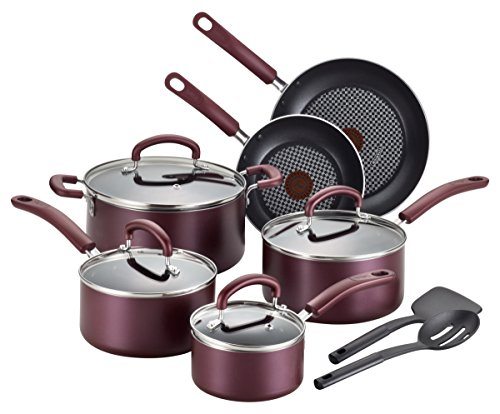 T-fal B130SC Color Luxe Hard Titanium Nonstick The...