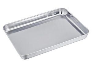 TeamFar Stainless Steel Compact Toaster Oven Pan T…