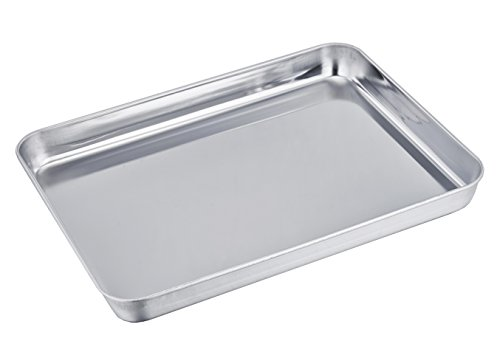TeamFar Stainless Steel Compact Toaster Oven Pan T...