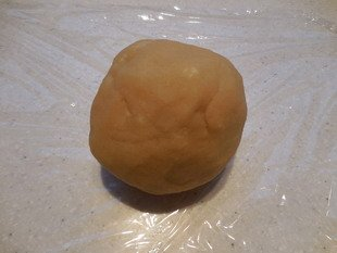 Pastry in ball