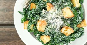 Healthy Kale Caesar Salad – Slender Kitchen