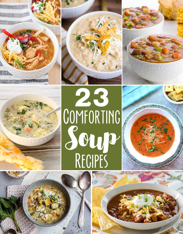 23 comforting soup recipes