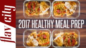 Clean Eating Meal Prep For 2018 – New Year Resolut…