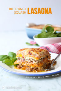 Low-Carb Butternut Squash Lasagna | The KetoDiet B…