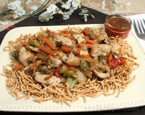 Low Calorie Recipe – Spicy Orange Chicken Stir Fry…