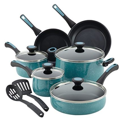 Paula Deen 12 Piece Riverbend Aluminum Nonstick Co...