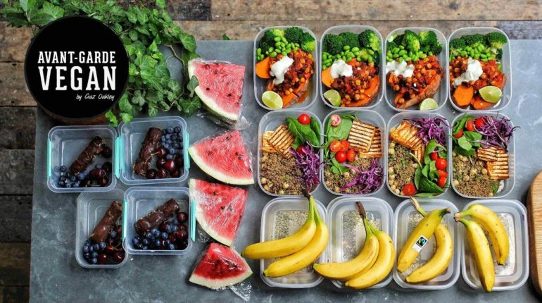 HIGH PROTEIN VEGAN MEAL PREP | @avantgardevegan by...