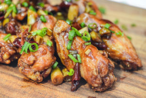 Grilled Chinese General Tso's Chicken Wings Recipe…