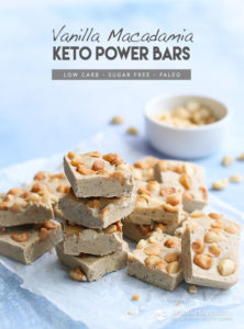 Vanilla Macadamia Keto Power Bars