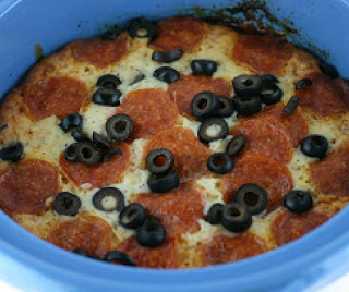 How to Make Pizza Casserole in the CrockPot Slow Cooker