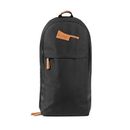 M(sqd) Roundsman Chef Knife Bag (Black) With 17 Pockets and 3 Zippered Compartments