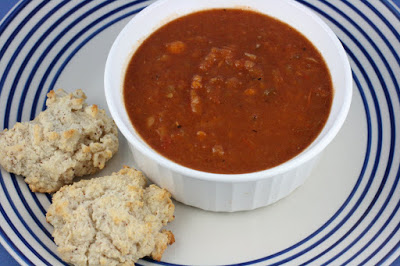 Baked Bean Soup is a homemade vegetarian soup packed with flavor that you can make easily with the crockpot slow cooker.
