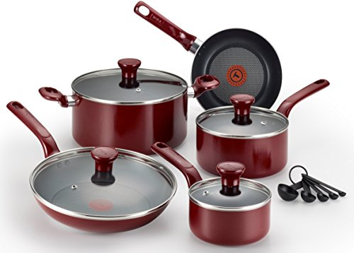 T-fal C514SE Excite Nonstick Thermo-Spot Dishwashe...