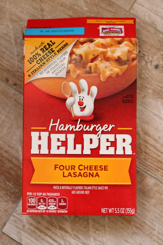 how to make Hamburger Helper in the Instant Pot