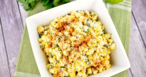 Healthy Mexican Street Corn Salad