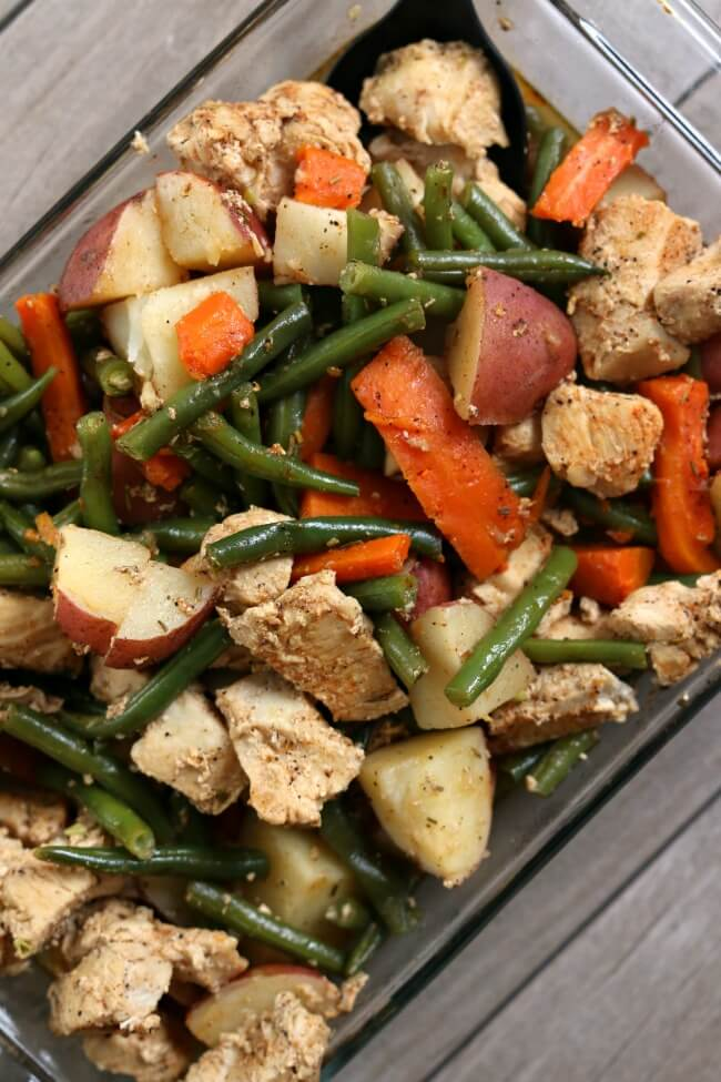 Instant Pot Homestyle Chicken And Vegetables The Healthy