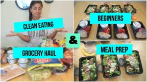 Clean Eating Grocery Haul & Meal Prepping for Begi…