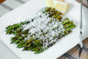 Grilled Asparagus with Lemon and Parmesan Recipe :…