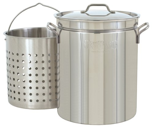 Bayou Classic 1160 62-Quart All Purpose Stainless ...