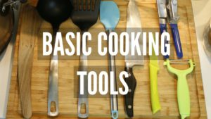 Beginners Guide to Cooking Utensils