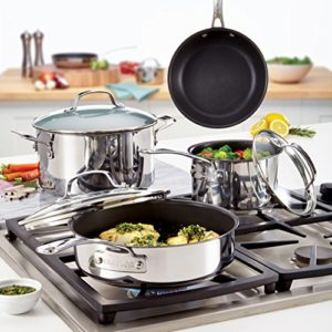 Circulon Genesis Stainless Steel Nonstick 10-Piece…