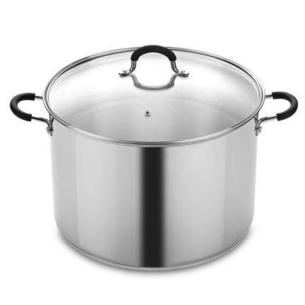 Cook N Home 20 Quart Stainless Steel Stockpot and ...
