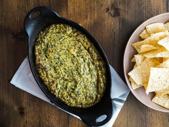 How to Make Vegan Spinach-Artichoke Dip