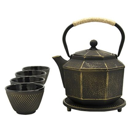 ISINO Antique Cast Iron Kettle , Chinese Teakettle...