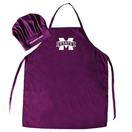 NCAA Mississippi State Bulldogs Mens Chef Hat & Ap...