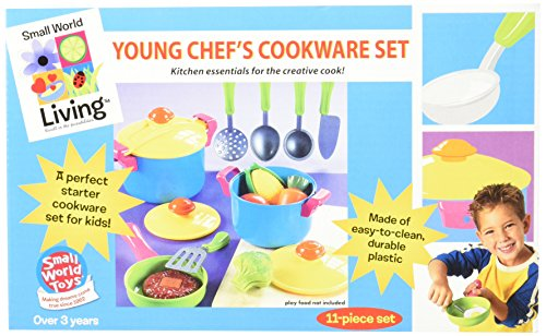 Small World Toys Living - Young Chef Cookware 11 P...
