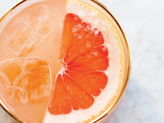 This Bright Grapefruit Pitcher Drink Is Your Passp...