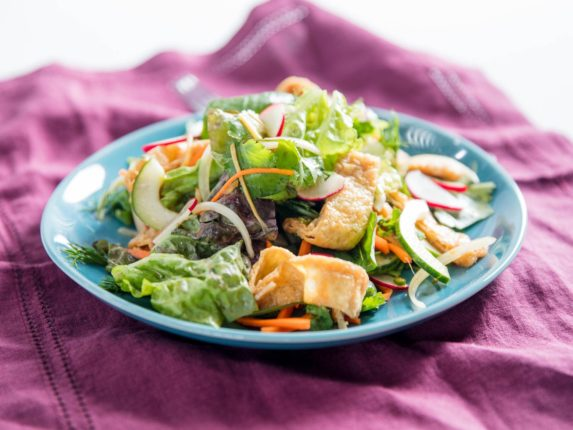This Punchy Tofu and Herb Salad Is a Pick-Me-Up An...