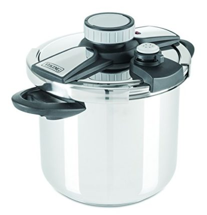 Viking Stainless Steel Pressure Cooker with Easy L...