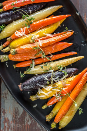 Oven Roasted Carrots - Slow Cooker Gourmet