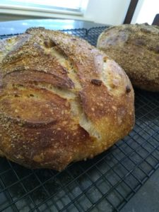 Polenta, Pepita sourdough…with a twist!