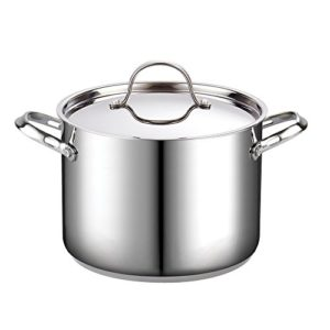 Cooks Standard 8-Quart Classic Stainless Steel Sto…
