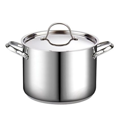 Cooks Standard 8-Quart Classic Stainless Steel Sto...