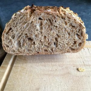 Ru's Toasted Oat Sourdough | The Fresh Loaf